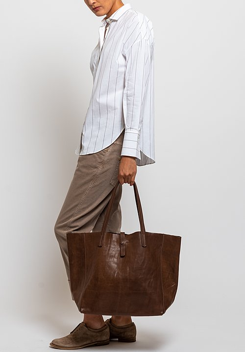 Massimo Palomba Aretha Tibet Bag in Light Brown