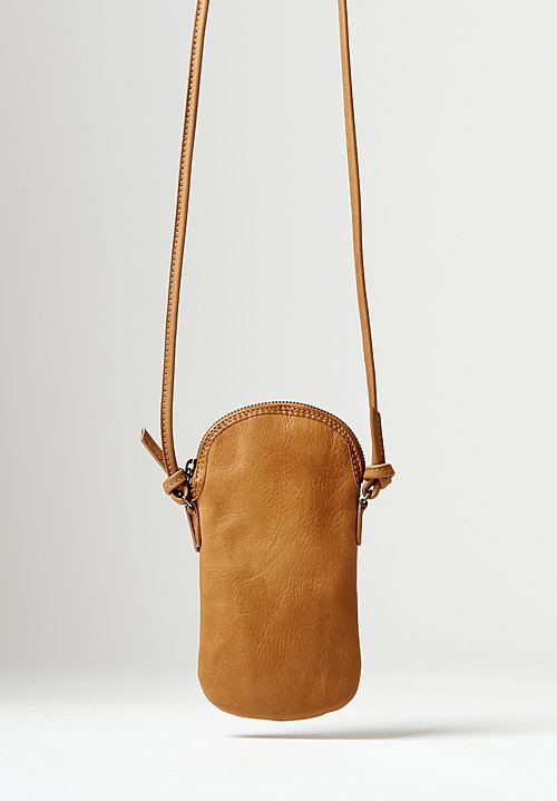 Massimo Palomba Mickey Tibet Pouch Bag in Camel
