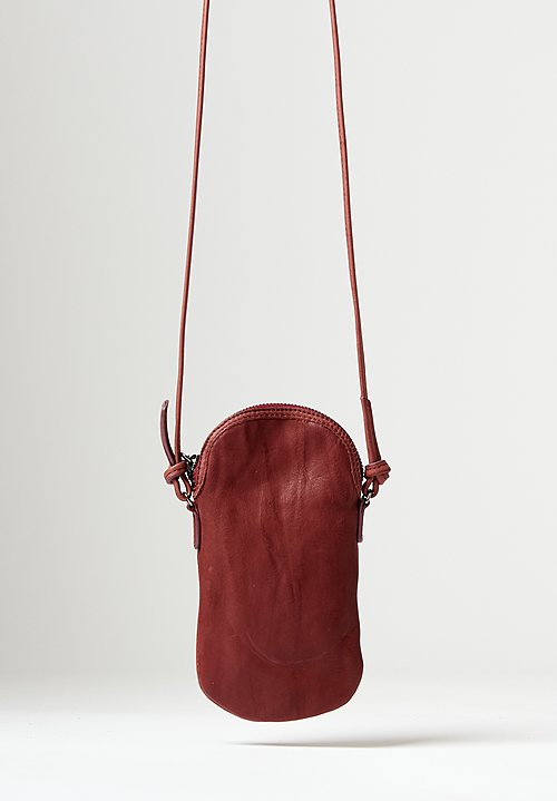 Massimo Palomba Mickey Tibet Pouch Bag in Malva