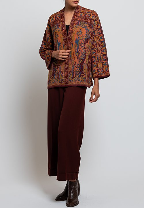 Etro Relaxed Cardigan in Multicolor