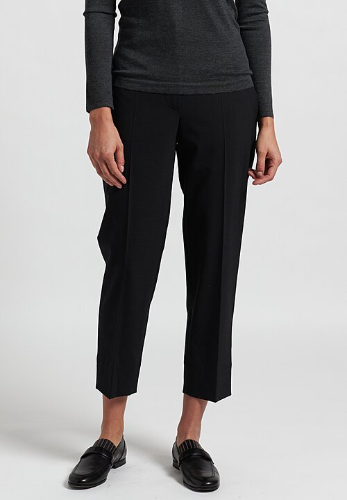 Brunello Cucinelli Tapered Pants in Black