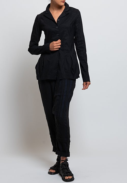 Rundholz Black Label Fitted Jacket in Black