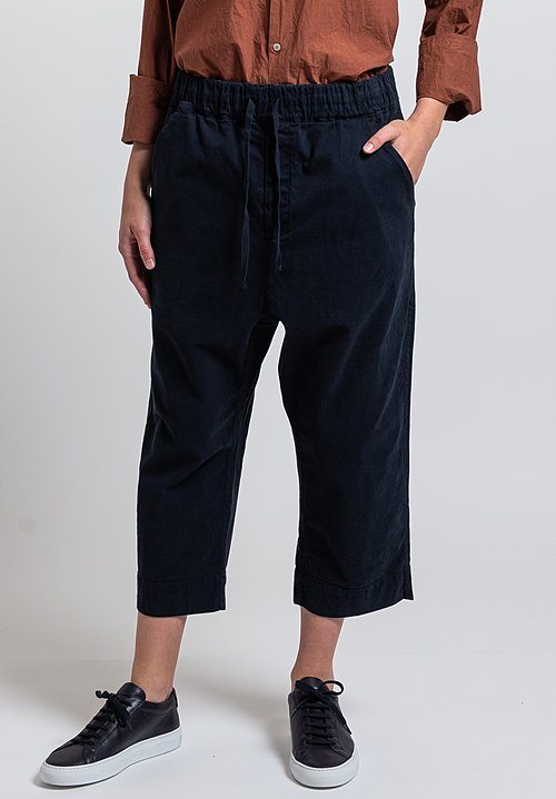 Album di Famiglia New Braghe Pants in Dark Navy