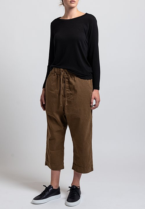 Album di Famiglia New Braghe Pants in Wood