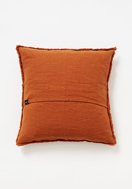 Himla Linen Jolin Pillow in Ginger