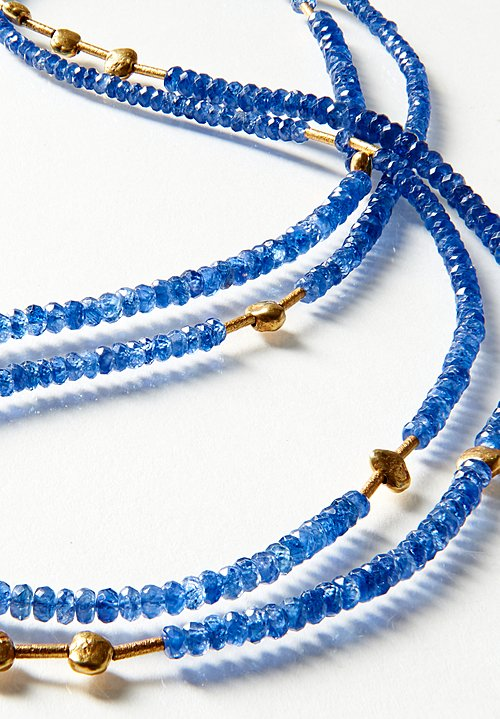 Greig Porter 18K, Long Sapphire Necklace