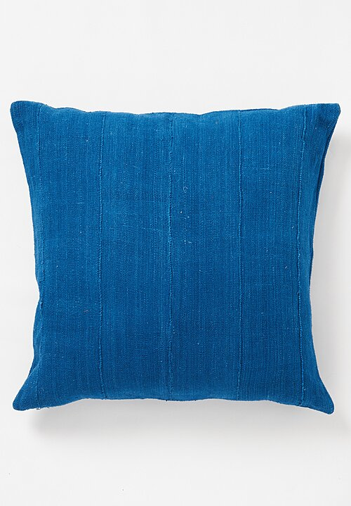 Aboubakar Fofana Large Handspun Indigo Dyed Cushion
