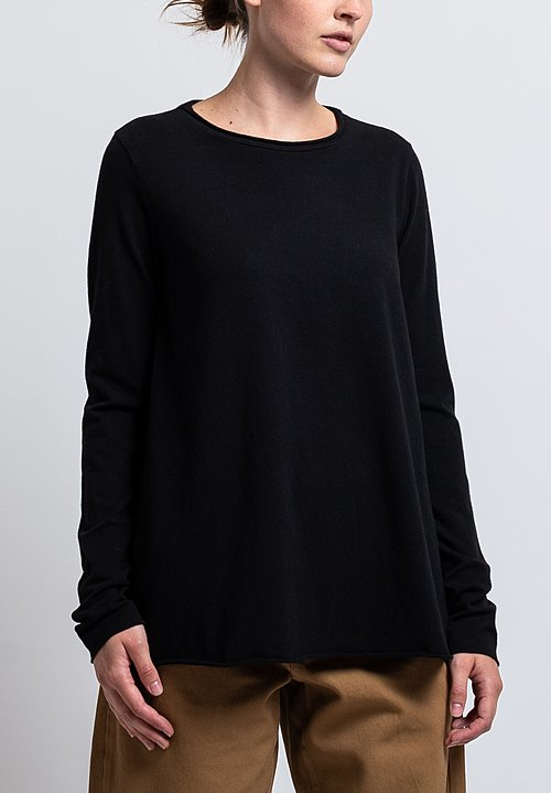 Labo.Art Cocache Jersey Tee in Black