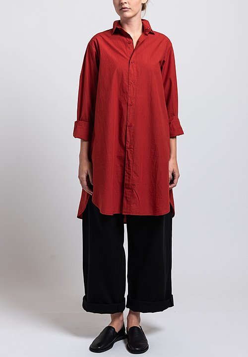 Labo.Art Cotton Bis Sushi Long Shirt in Autunno