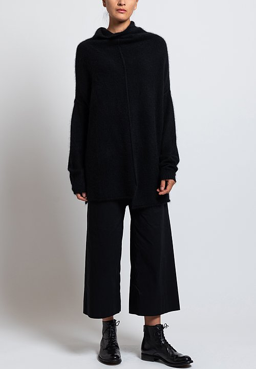Rundholz Drop Shoulder Sweater in Black