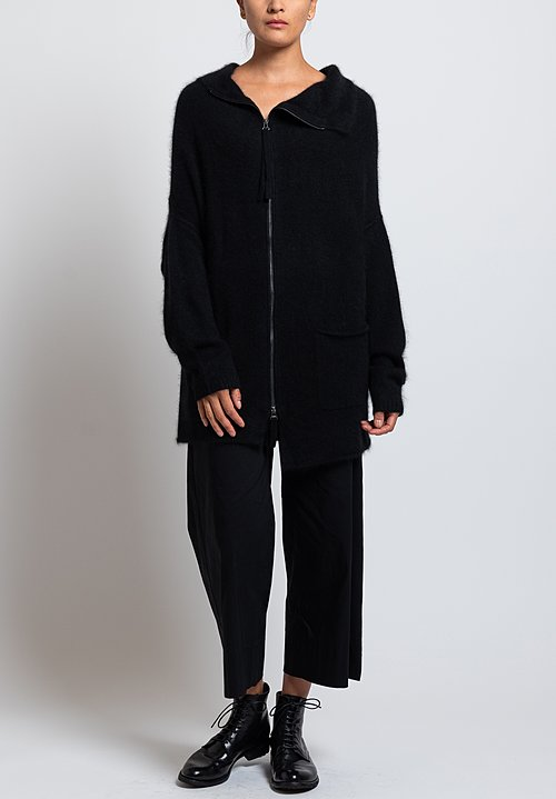 Rundholz Drop Shoulder Jacket in Black