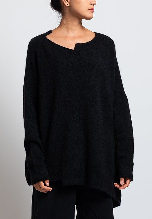 Rundholz Oversized Sweater in Black