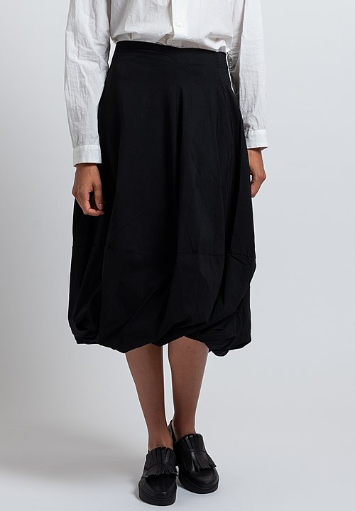 Rundholz Black Label Balloon Skirt in Black