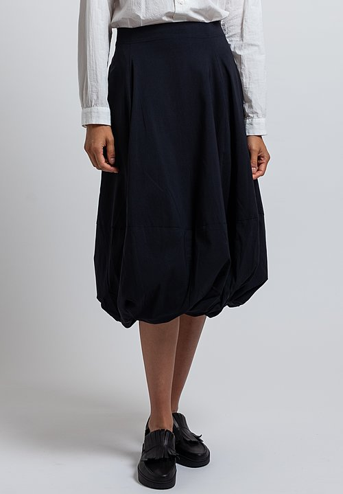 Rundholz Black Label Balloon Skirt in Dark Blue