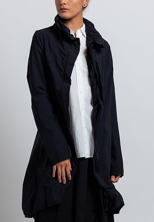 Rundholz Black Label Ballon Coat in Dark Blue