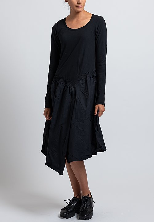 Rundholz Black Label Skirt Dress in Black