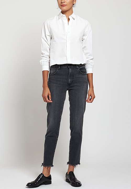 Moussy MV Westcliffe Skinny-HI Jeans in Light Black