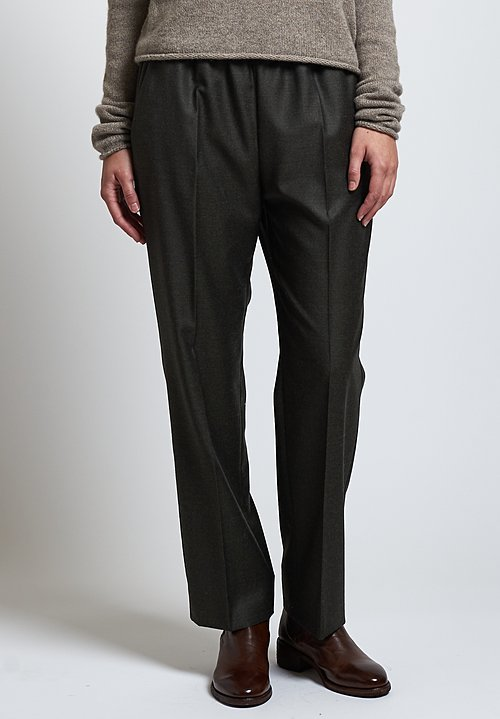 Agnona Formal Pants in Green