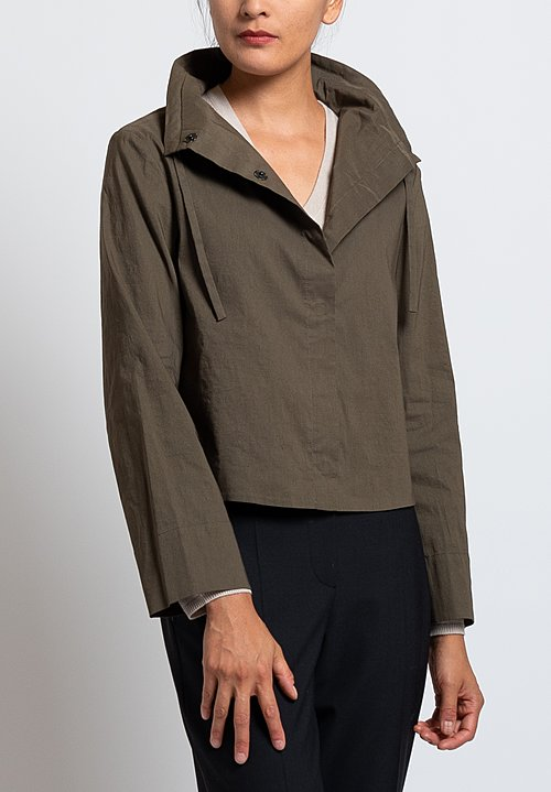 Peter O. Mahler Soft Collar Jacket in Candy