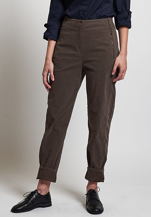 Annette Görtz Carta Pants in Dark Taupe