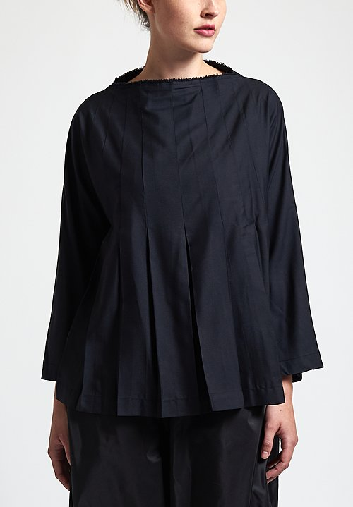 Daniela Gregis Teresa Top in Black