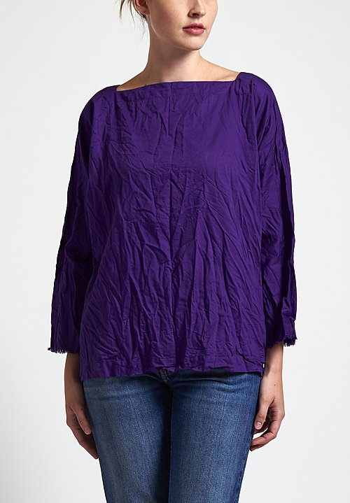 Daniela Gregis Square Top in Purple