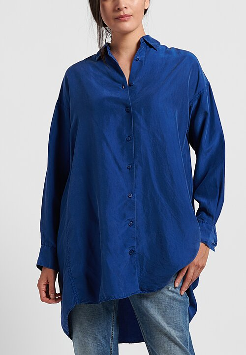 Casey Casey Christy 2 Shirt in Indigo