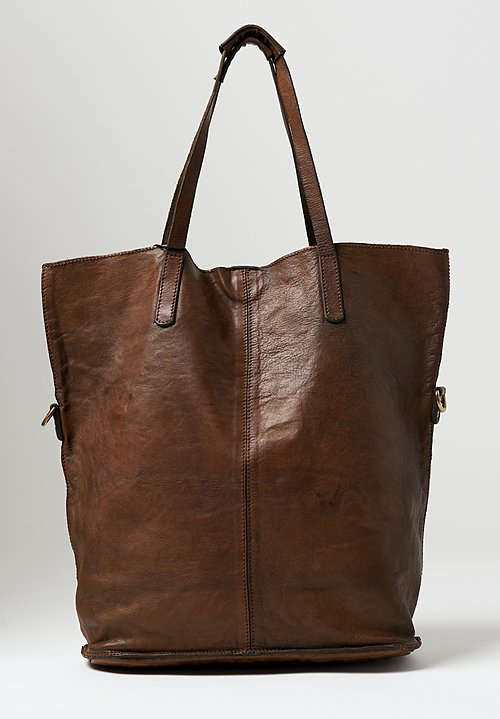 Campomaggi Large Shopping Tote in Military