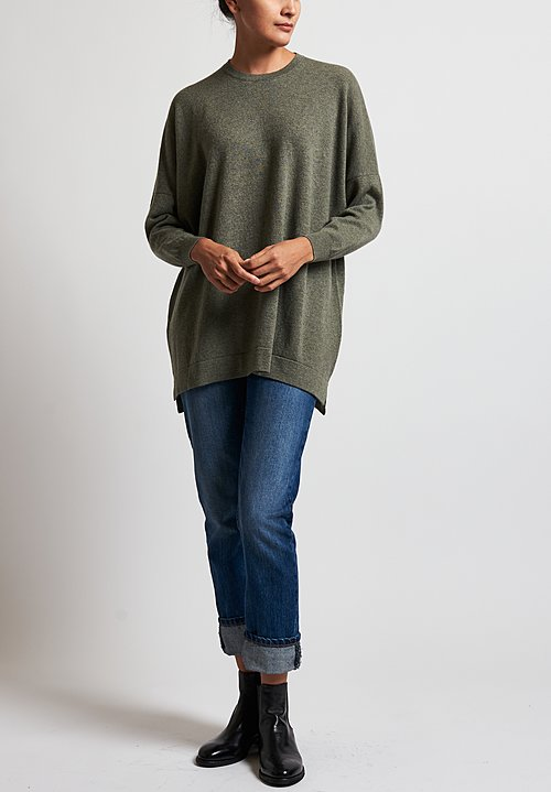 Hania New York Marley Sweater in Green