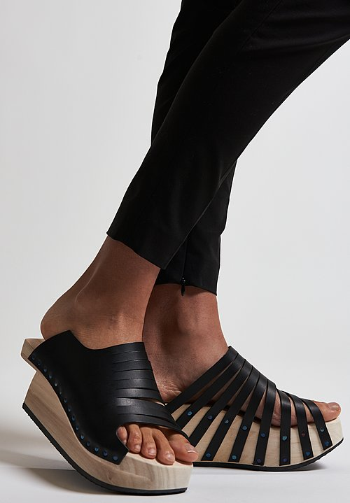 Trippen Flux Sandal in Black