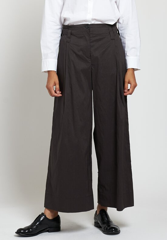 Peter O. Mahler Culottes in Dark Brown