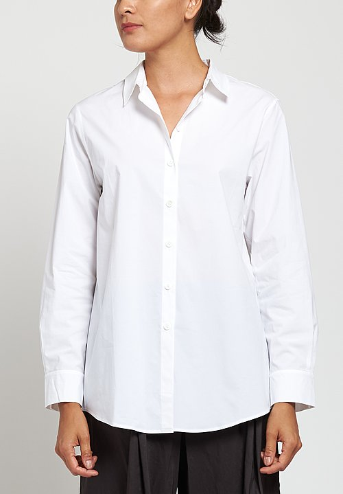 Peter O. Mahler Classic Shirt in White