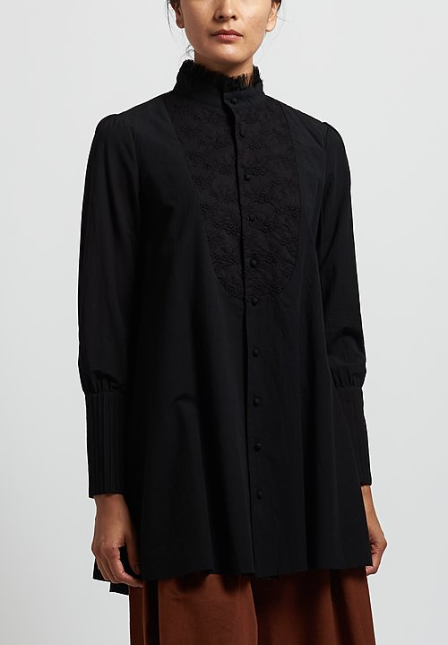 A Tentative Atelier ''Archibald'' Shirt in Black