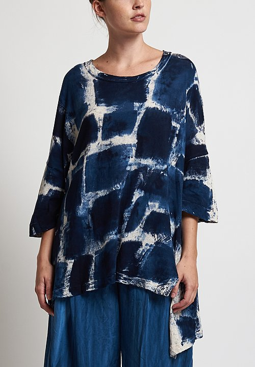 Gilda Midani Super Tee in Blue Gall