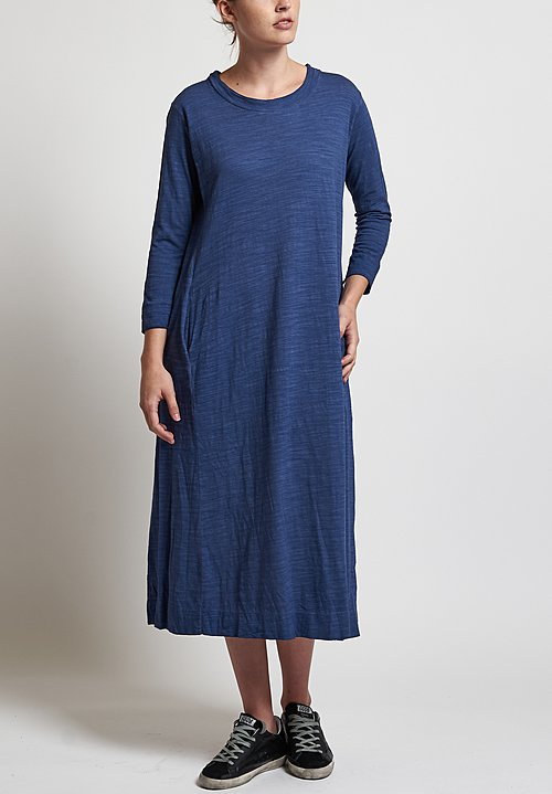 Gilda Midani Maria Dress in Blue Vintage