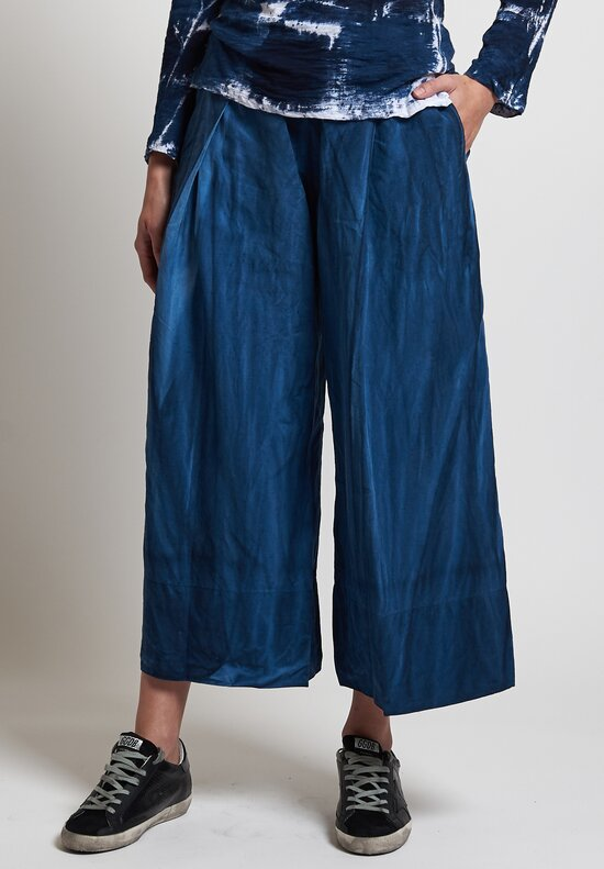Gilda Midani Pleat Pants in Blue