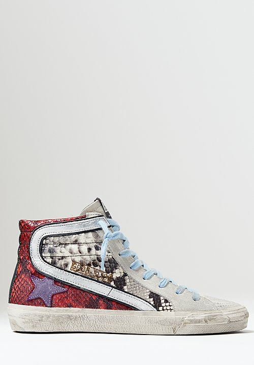 Golden Goose Slide Sneaker in Multi-Snake