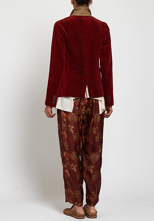 Uma Wang Hasani Karon Jacket in Red