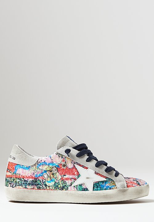 Golden Goose Sequin Superstar Sneakers