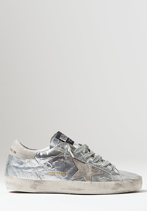 Golden Goose Calf Leather Superstar Sneakers