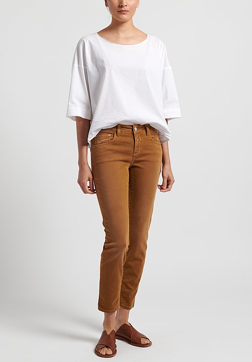 Closed Baker Cropped Narrow Jeans in Tobacco
