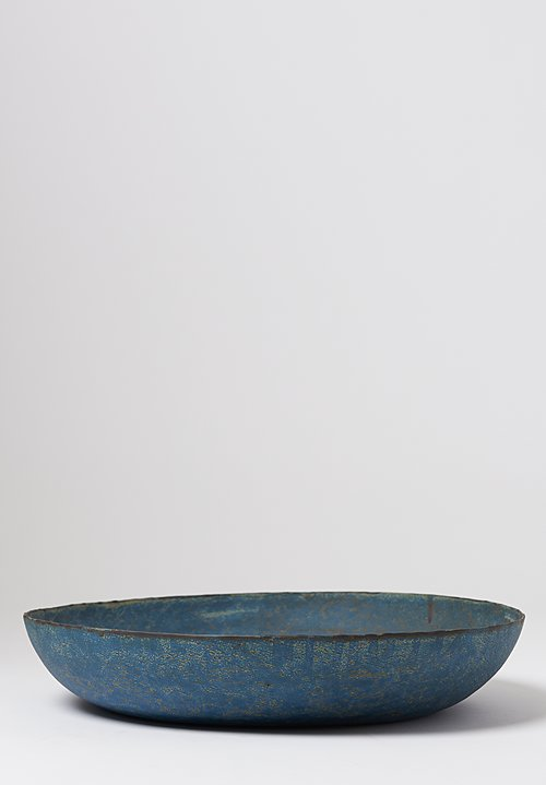 Linda Ouhbi Large Serving Plate in Blue