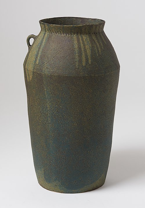 Linda Ouhbi Large Jug in Green