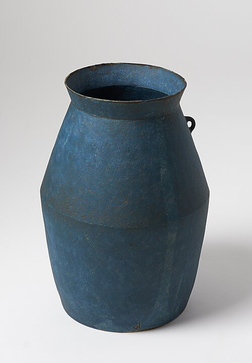 Linda Ouhbi Ceramic One Handle Large Broc in Blue