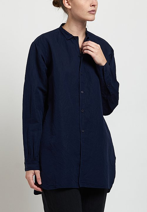 Kaval Fine Twill Simple Stitch Shirt