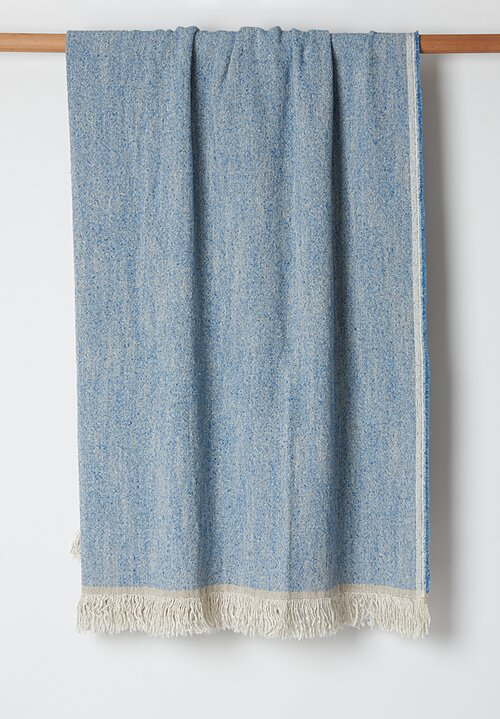 Judd Throw in Light Blue