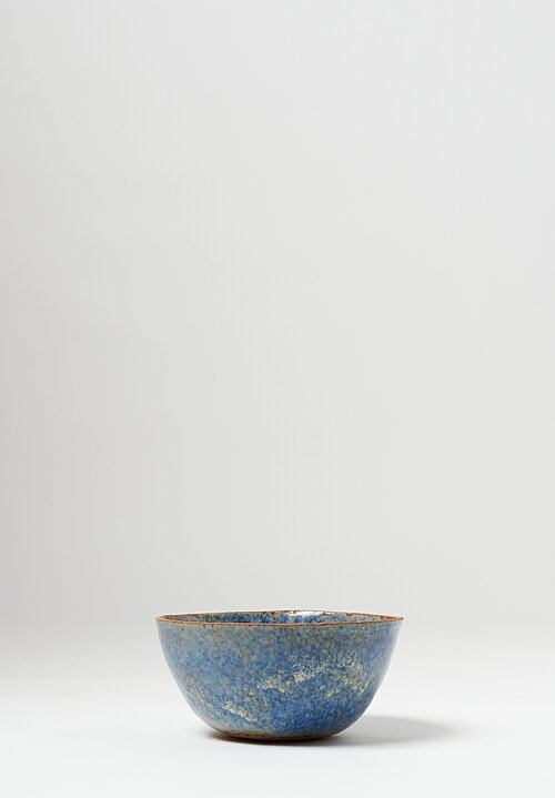 Terra Coll Clayworks Stoneware Cereal Bowl in Blue
