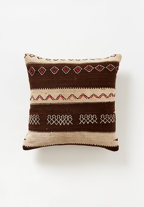Wool Moroccan Berber Ourika Rug Pillow