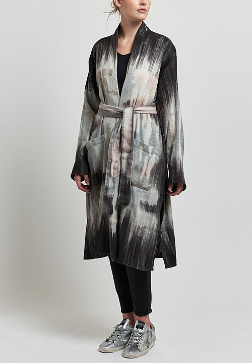 Avant Toi Belted Duster in Carruba