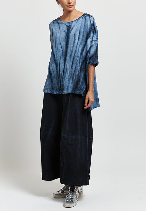 Gilda Midani Super Tee in Marble Steel Blue
